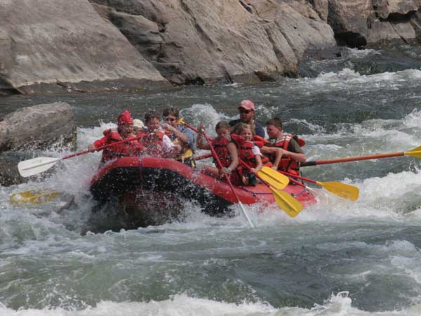 Salmon River Rafting with Idaho Adventures